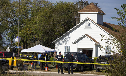 Church Shooting Texas_632094