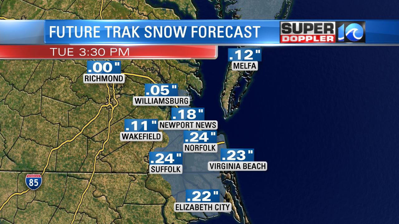 Snow Forecast (Future Trak)