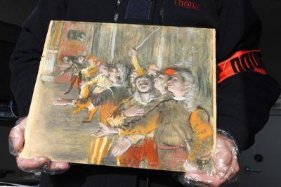 French Degas Found