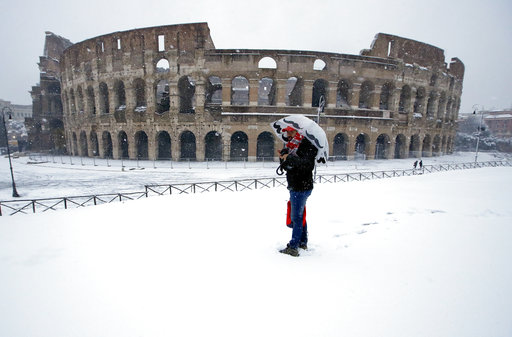 Rome Snow Storm