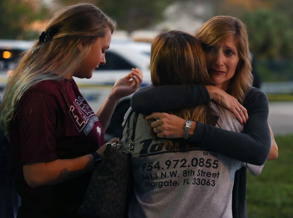 Florida Town Of Parkland In Mourning, After Shooting At Marjory Stoneman Douglas High School Kills 17_698387