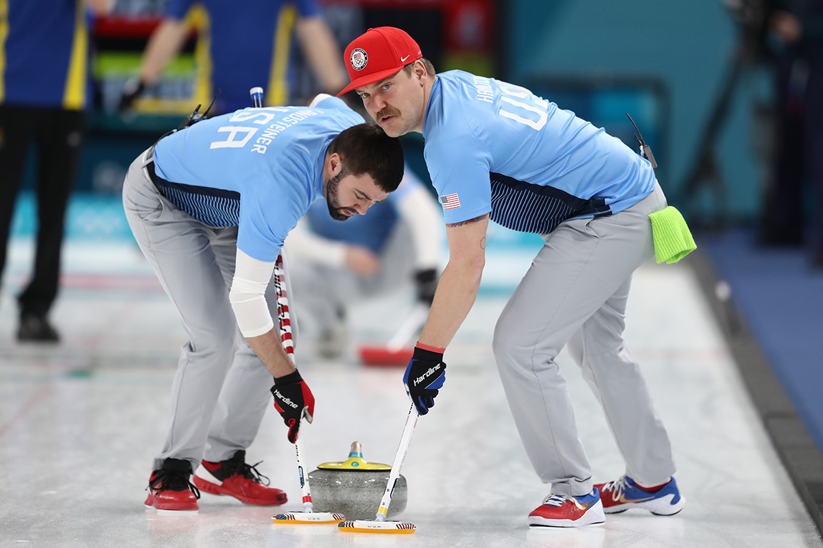 Curling – Winter Olympics Day 15_705099