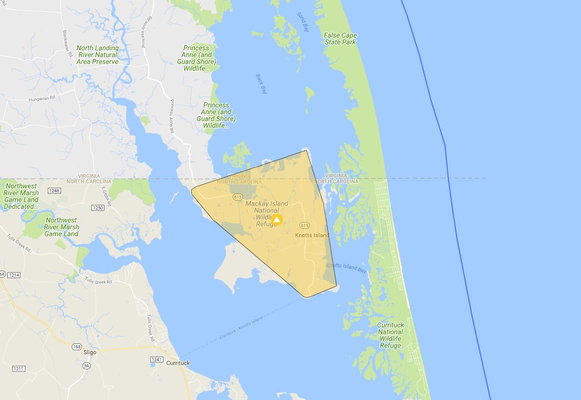 Knotts Island power outage_704357