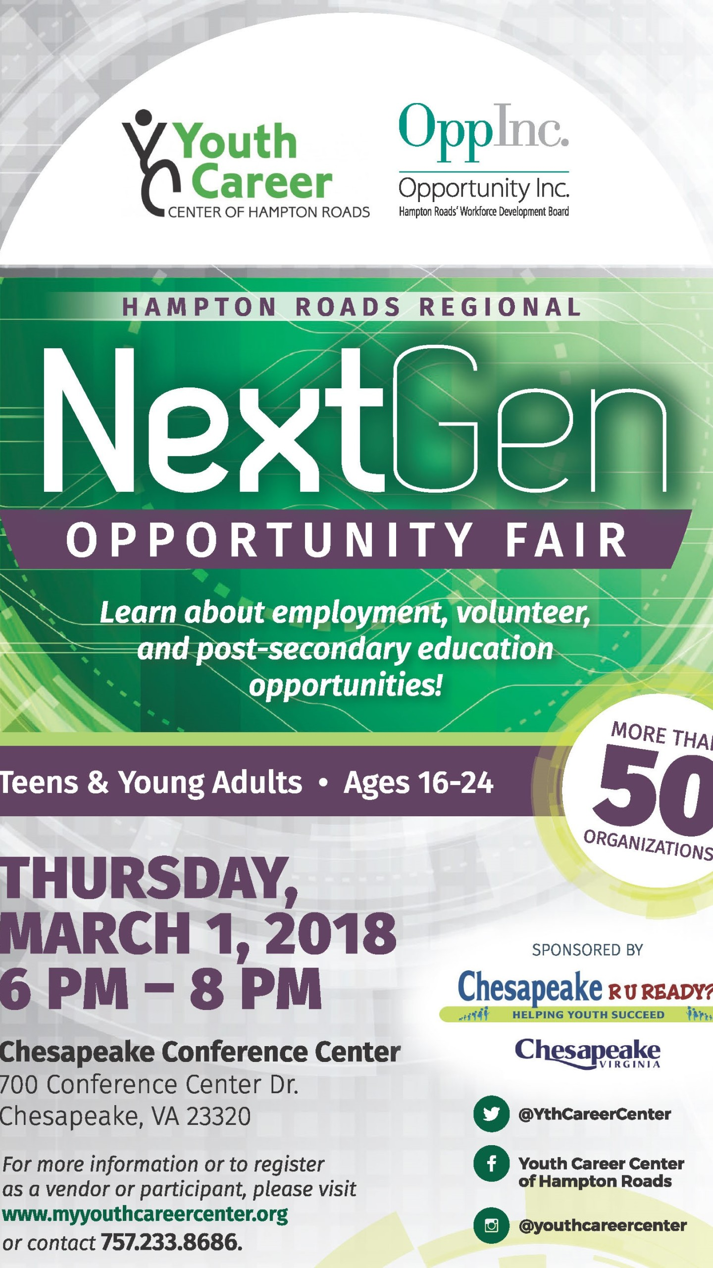 Chesapeake NextGen Opportunity Fair_706645