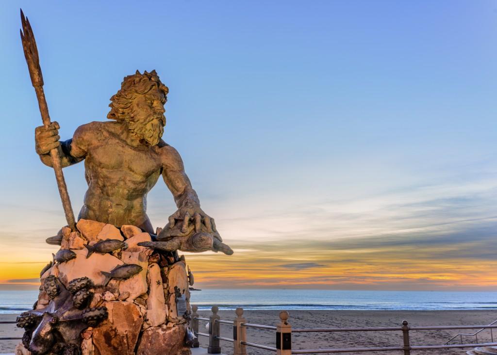 Shutterstock Virginia Beach King Neptune_704401