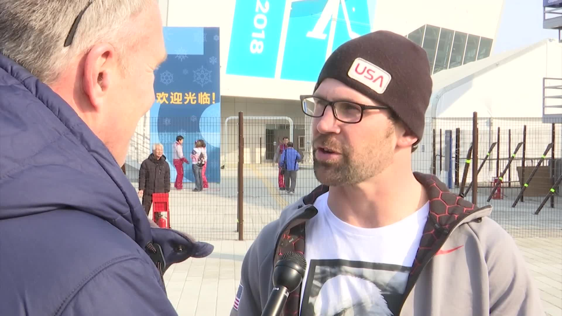 Team USA_s Nick Baumgartner may have just missed the podium in snowboard cross, but he says sharing the experience with his son changed everyth_702048