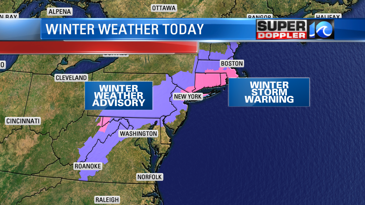 WINTER WEATHER FOR THE NE