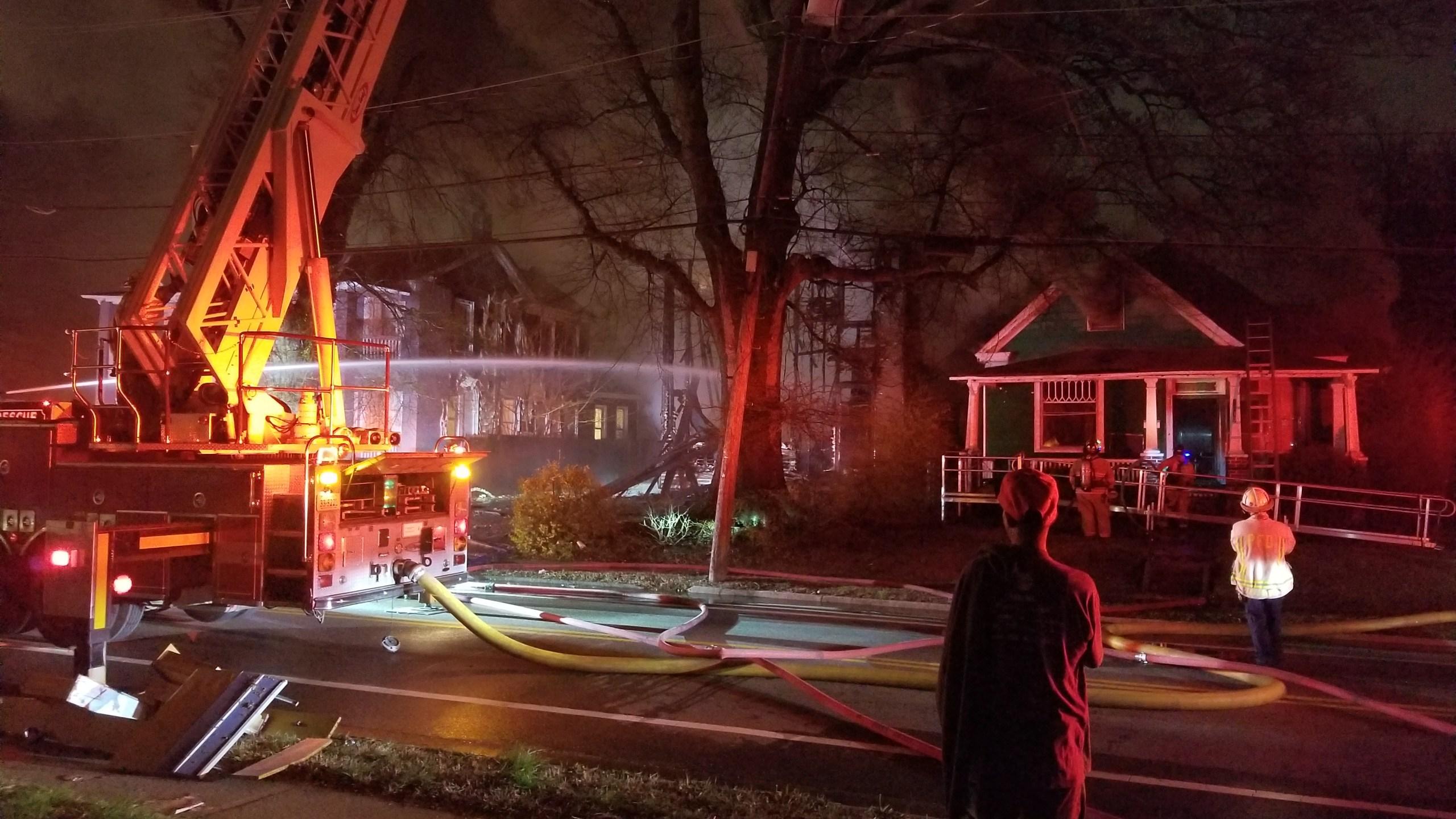 Portsmouth fire Elm and Duke