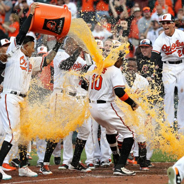 Orioles walk-off opening day 2018