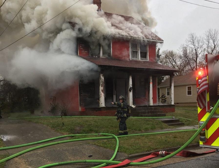 Newport News 30th Street House Fire