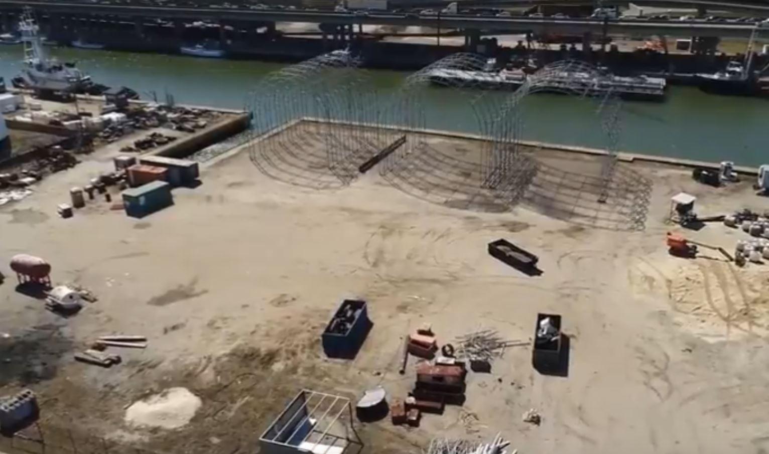 Newport News Fairlead site work 2018