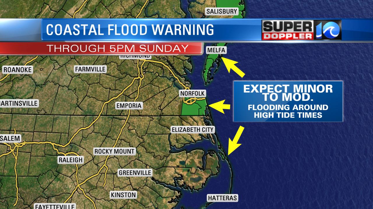 COASTAL FLOOD WARNING