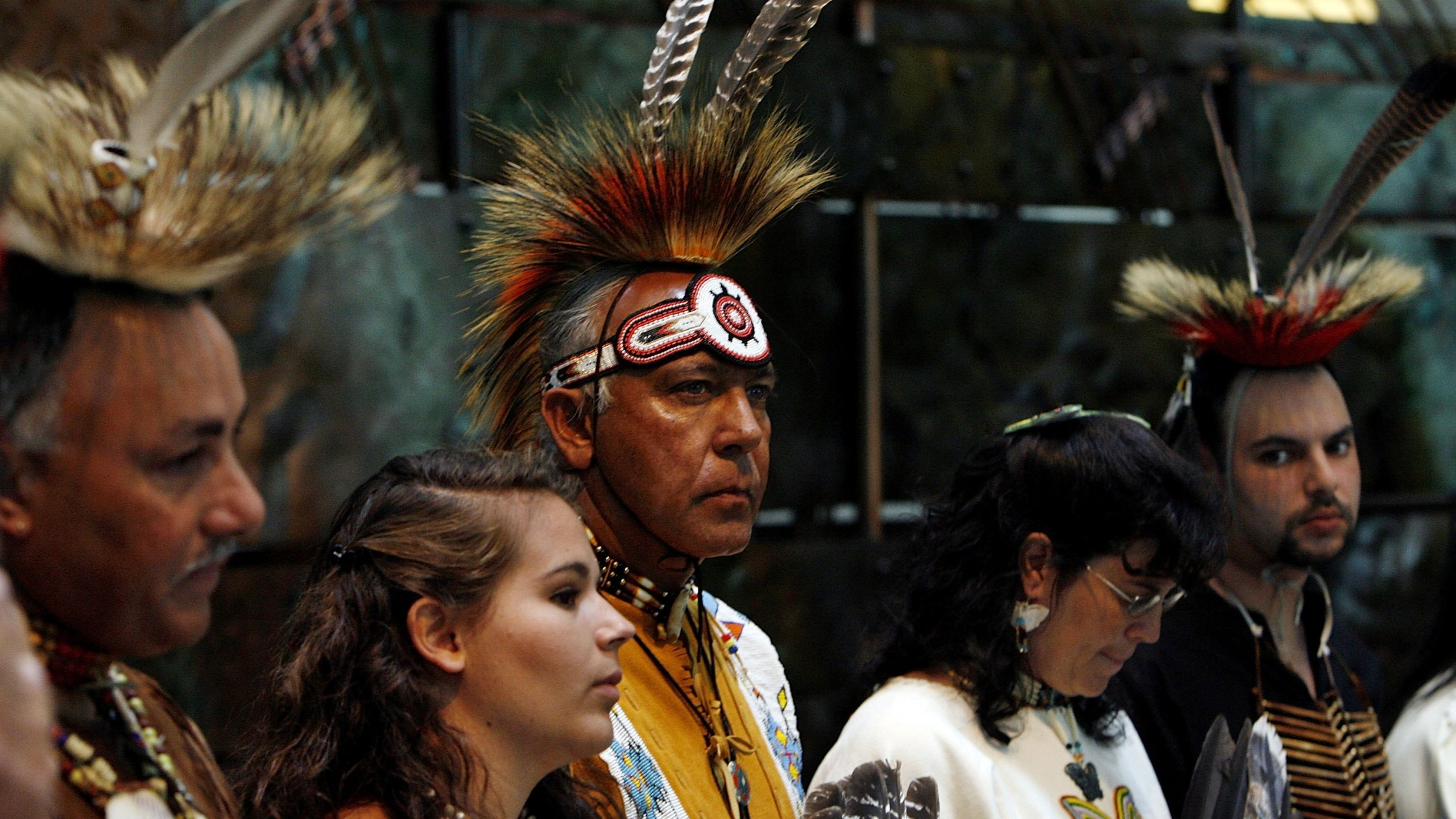 Virginia Indian Chiefs To Visit Pocahantas' Grave_718985