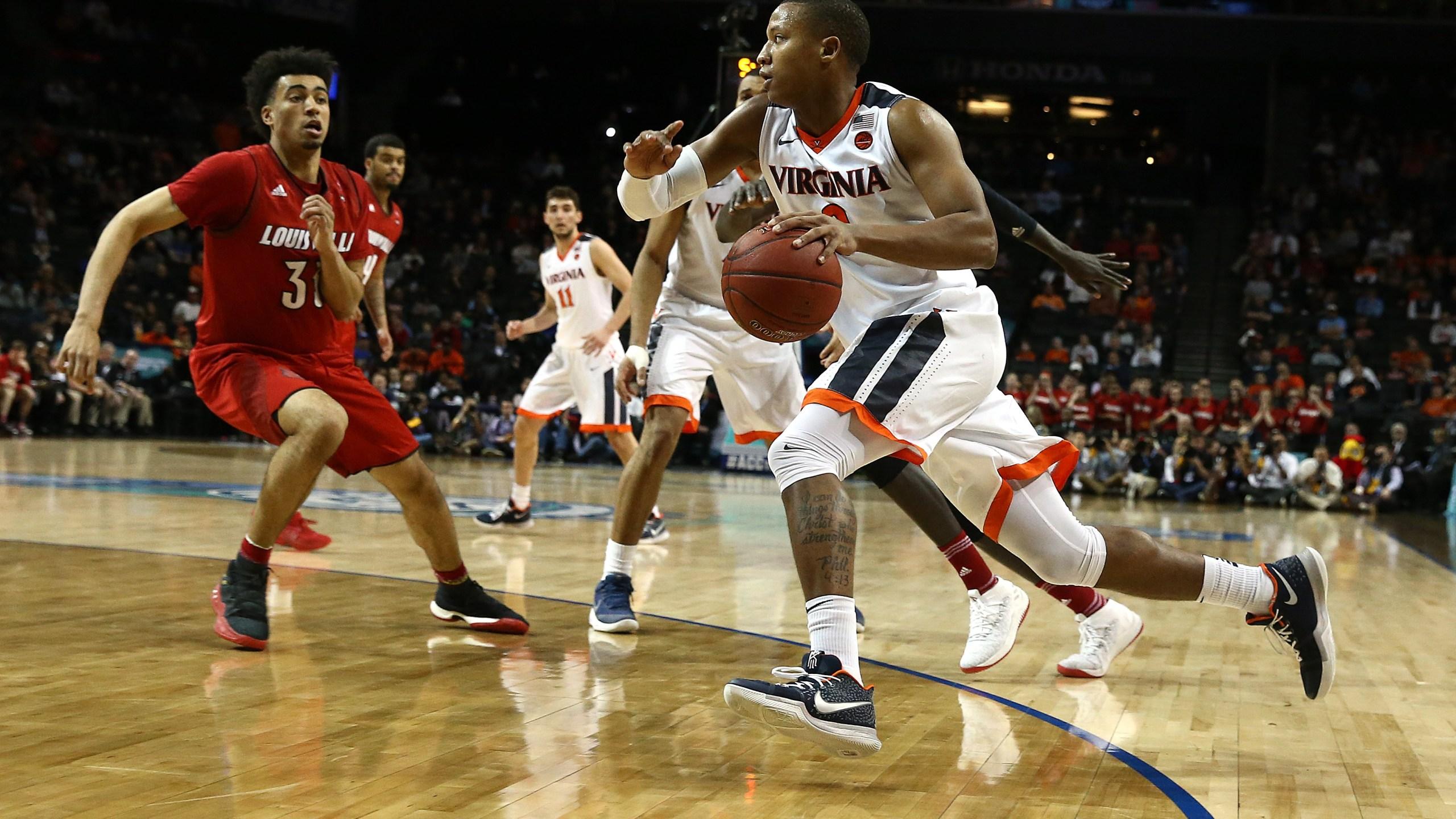 ACC Basketball Tournament - Quarterfinals Va v Louisville_713099