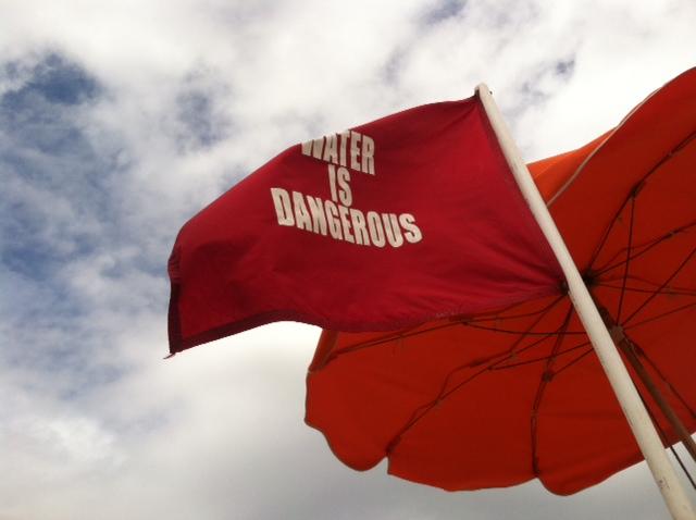 Red Flag Surf Warning