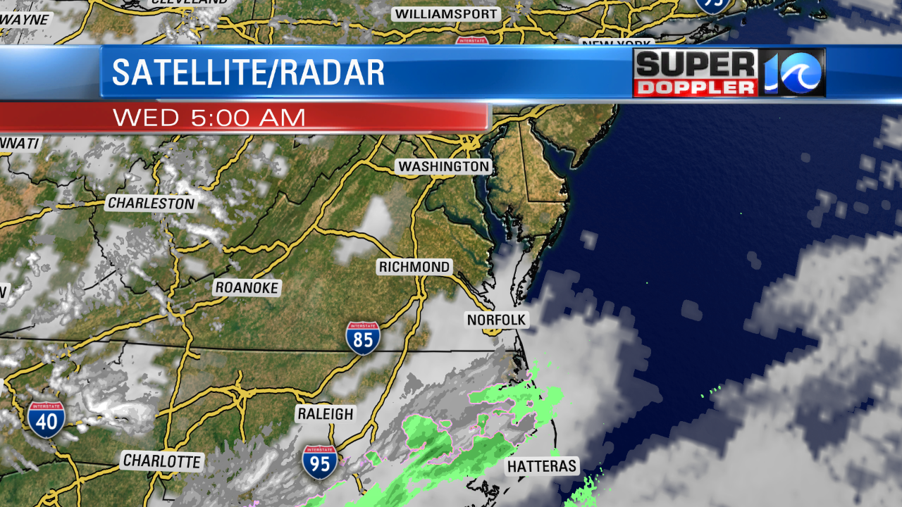 SNOW EARLY...MAINLY FOR NE NC