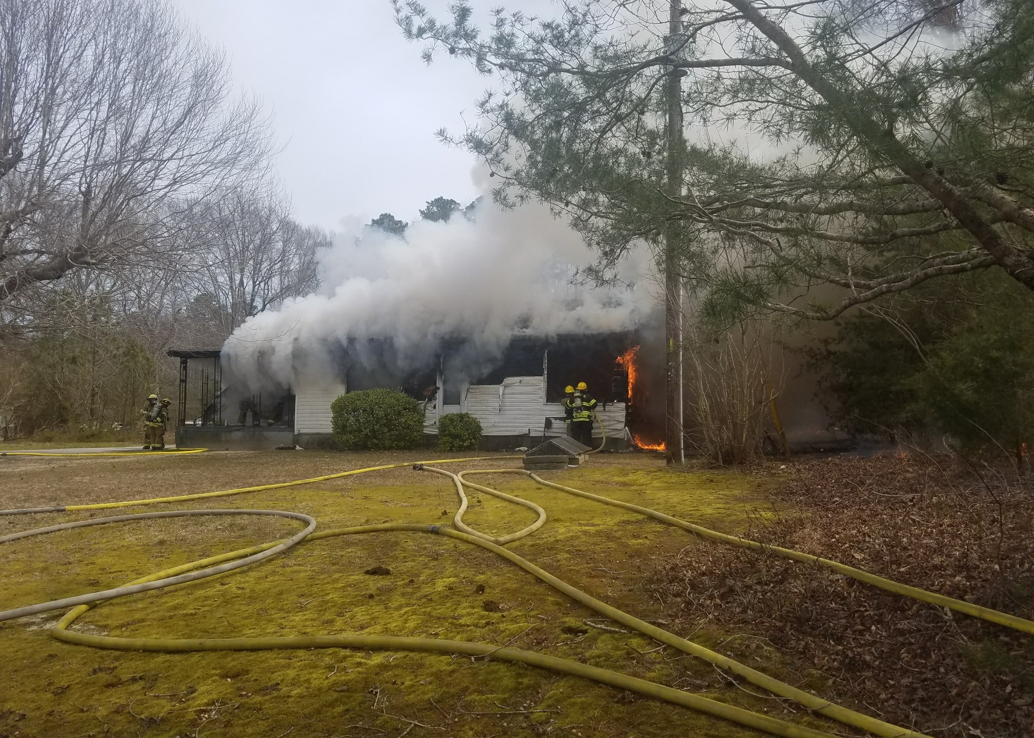 Surry County Spring Grove House Fire Viewer Photo