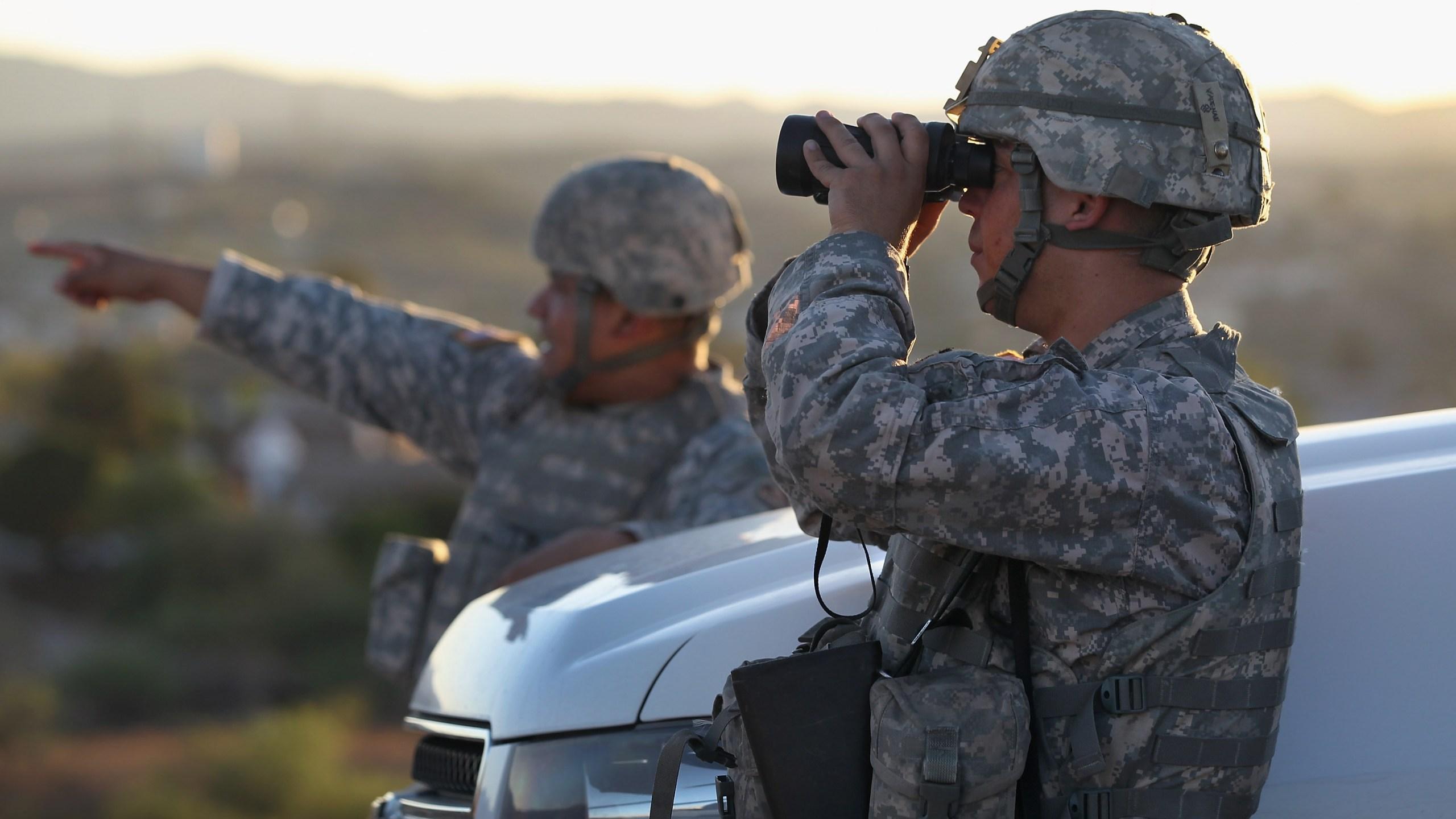 National Guard at border
