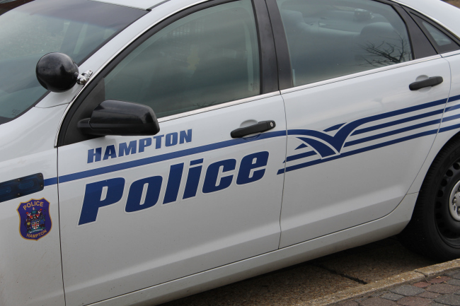 Hampton police car generic