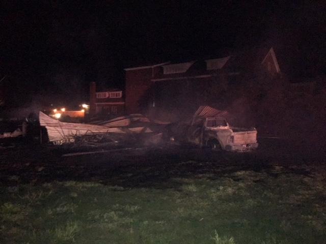 Suffolk Barn Fire