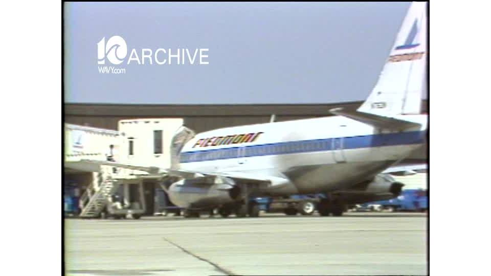 WAVY Archive: 1981 Airline Price War - People Express