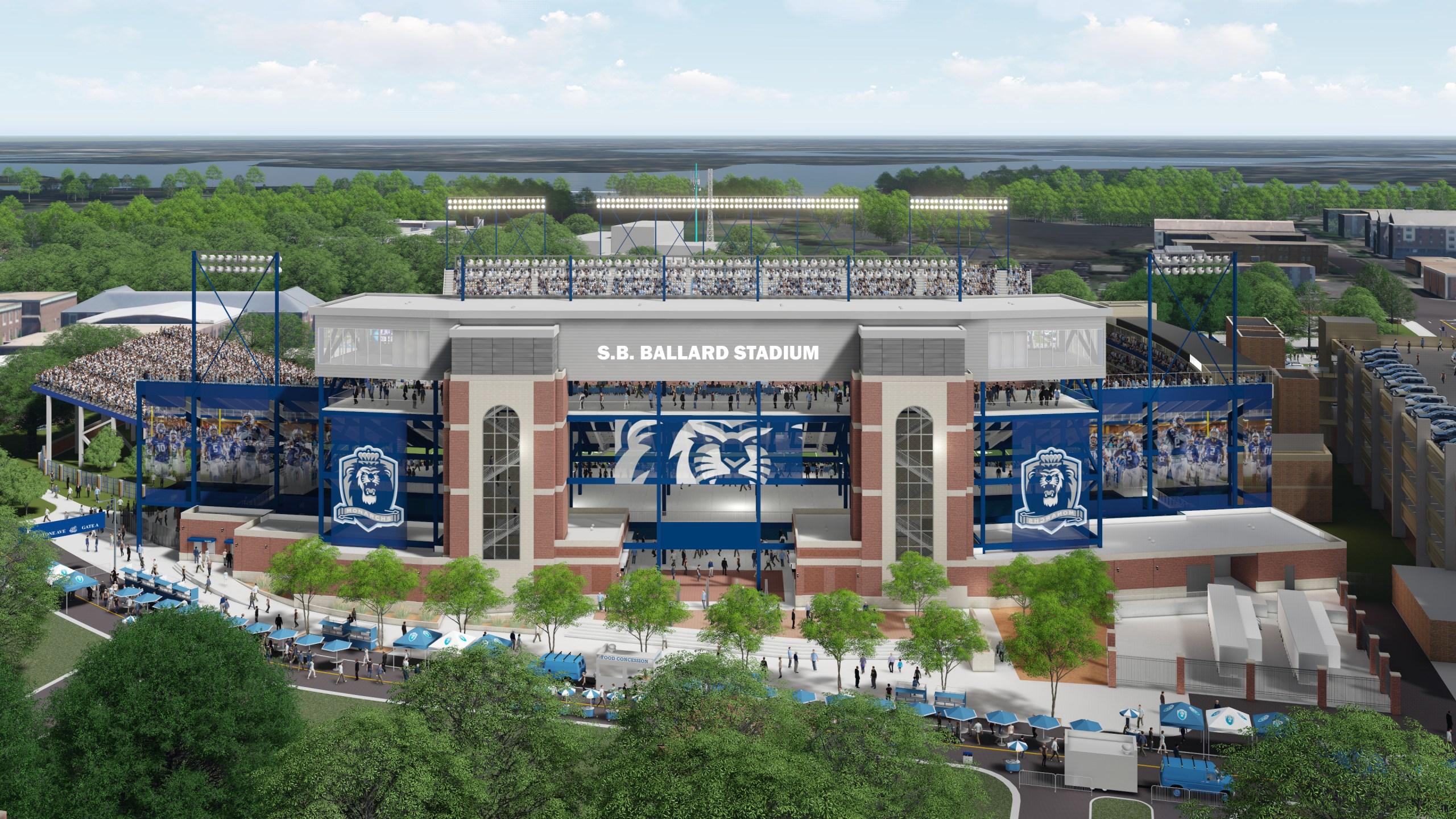 ODU Football Stadium Reconstruction