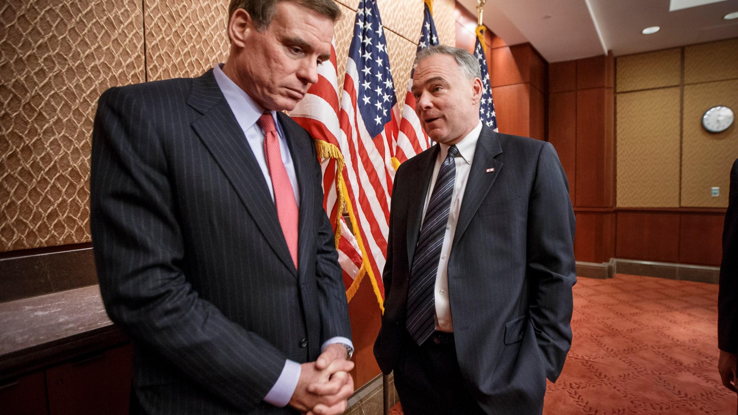 Mark Warner and Tim Kaine