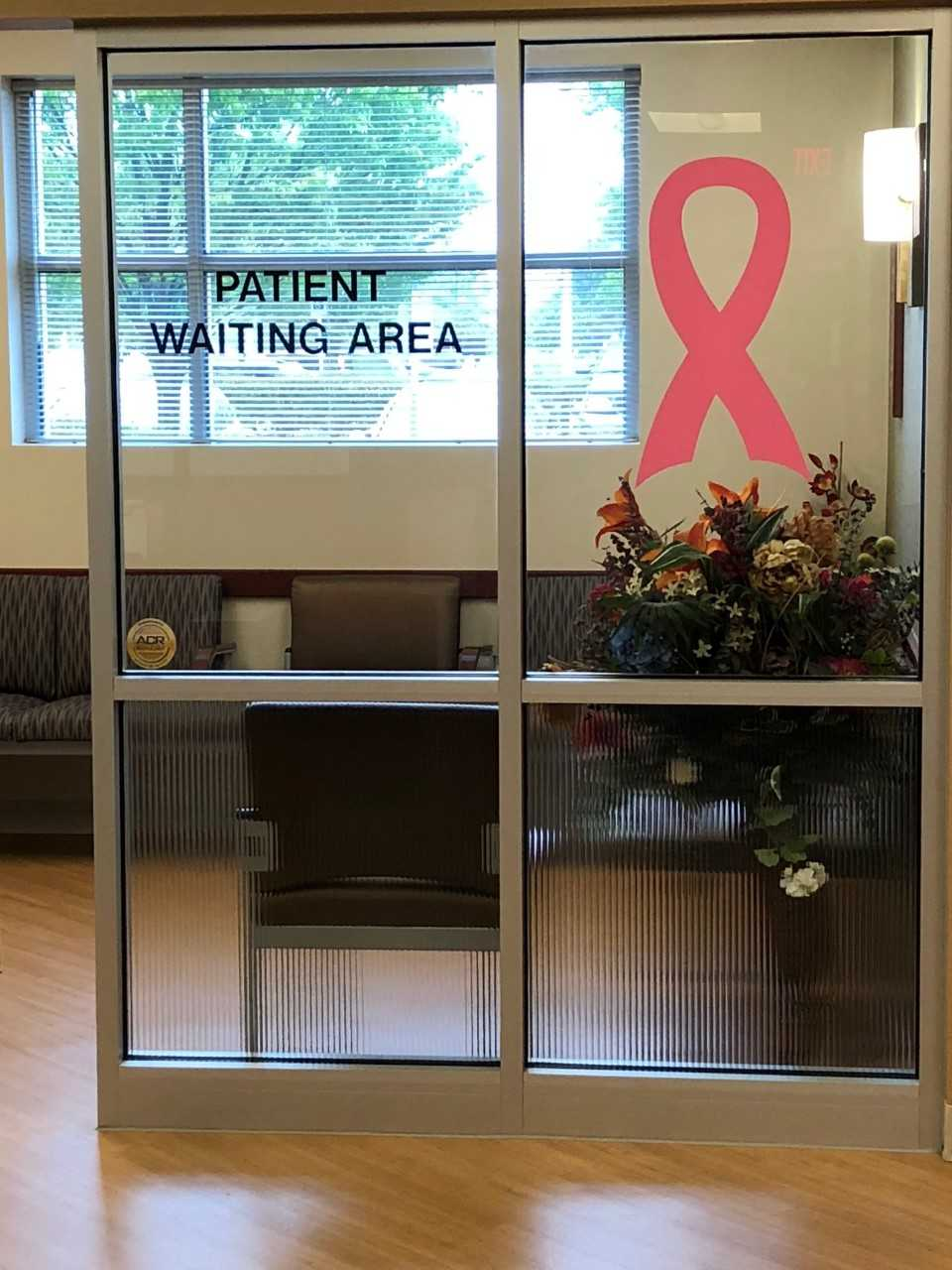 Breast Cancer Patient Waiting Area