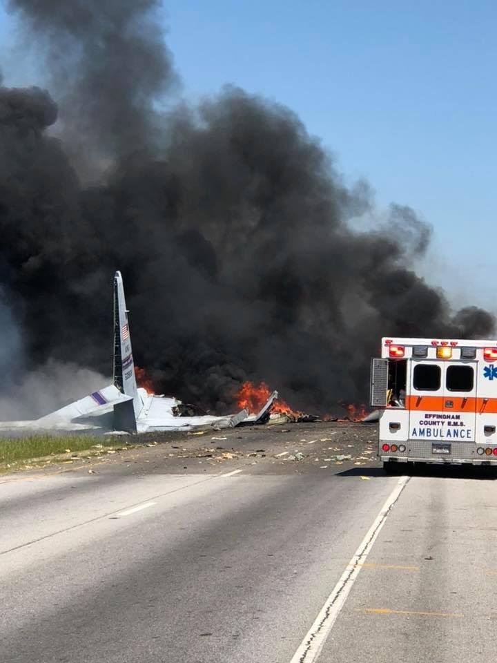 Savannah Plane Crash
