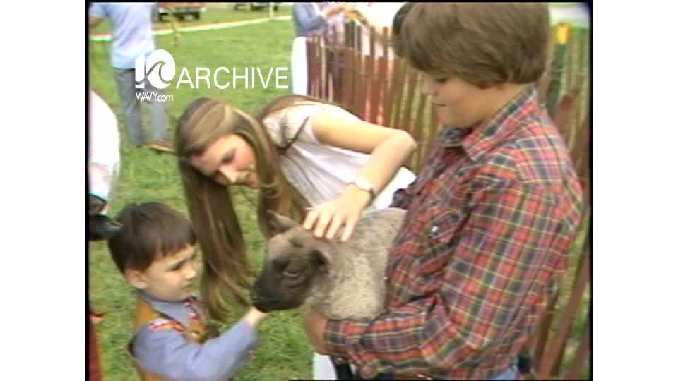 WAVY Archive: 1981 4-H Club Livestock Show