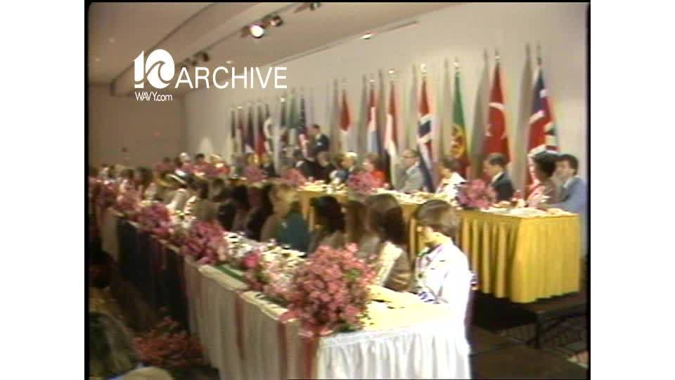 WAVY Archive: 1981 Azalea Festival Luncheon