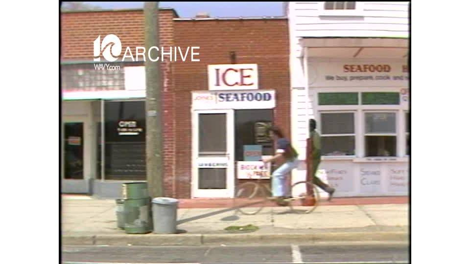 WAVY Archive: 1981 Cape Charles Business