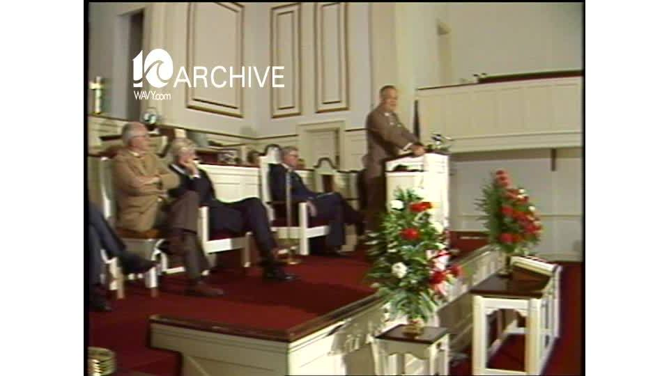 WAVY Archive: 1981 Chief Justice Lawrence I'Anson