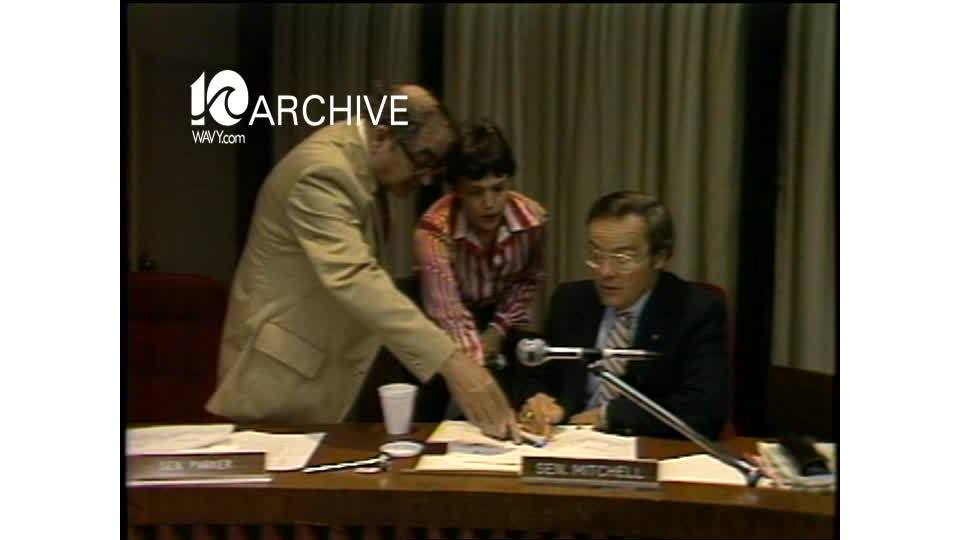 WAVY Archive: 1981 General Assembly-Congressional Districts