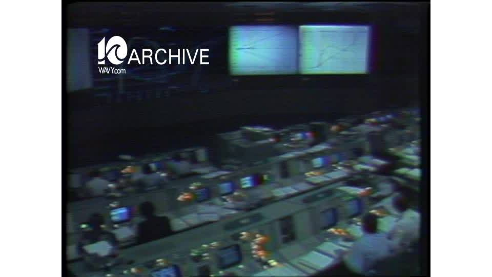 WAVY Archive: 1981 NASA Columbia Shuttle Launch and Landing