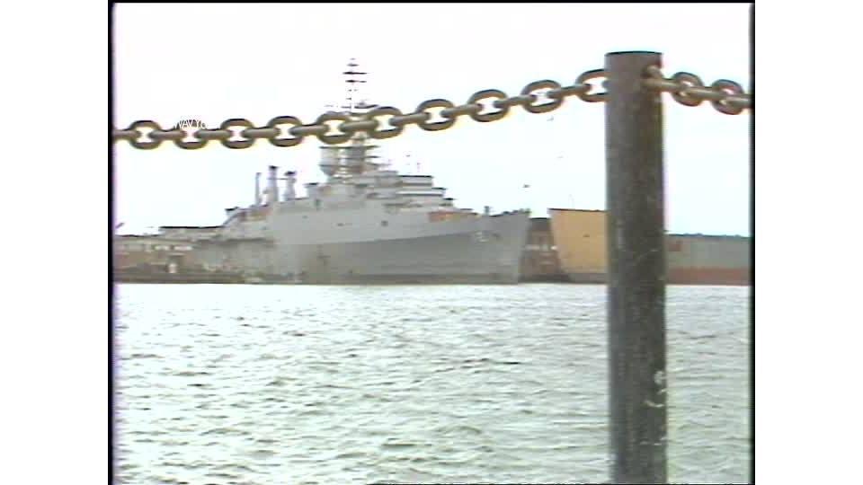 WAVY Archive: 1981 Naval Ship Overhaul