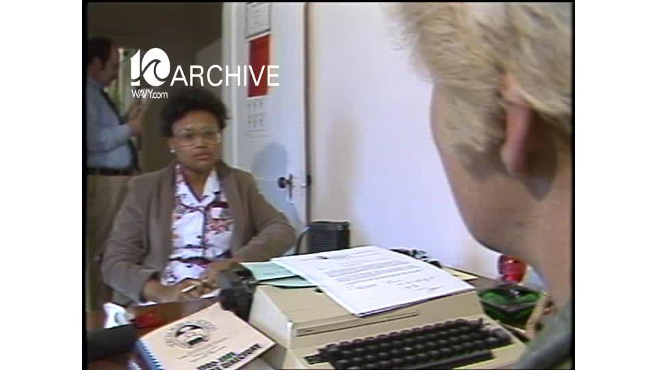 WAVY Archive: 1981 Norfolk Teachers Salary