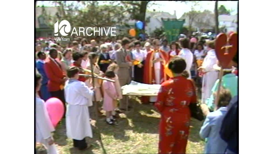 WAVY Archive: 1981 Portsmouth Palm Sunday Celebration