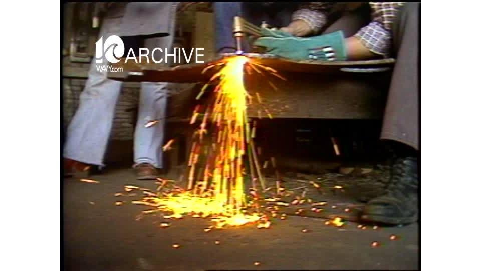 WAVY Archive: 1981 Ship Building Training