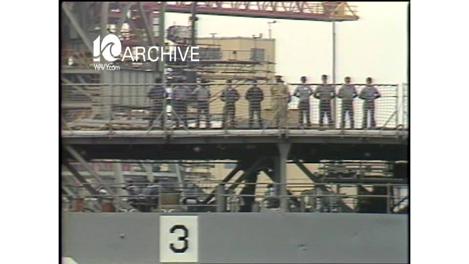 WAVY Archive: 1981 USS Plymouth Rock