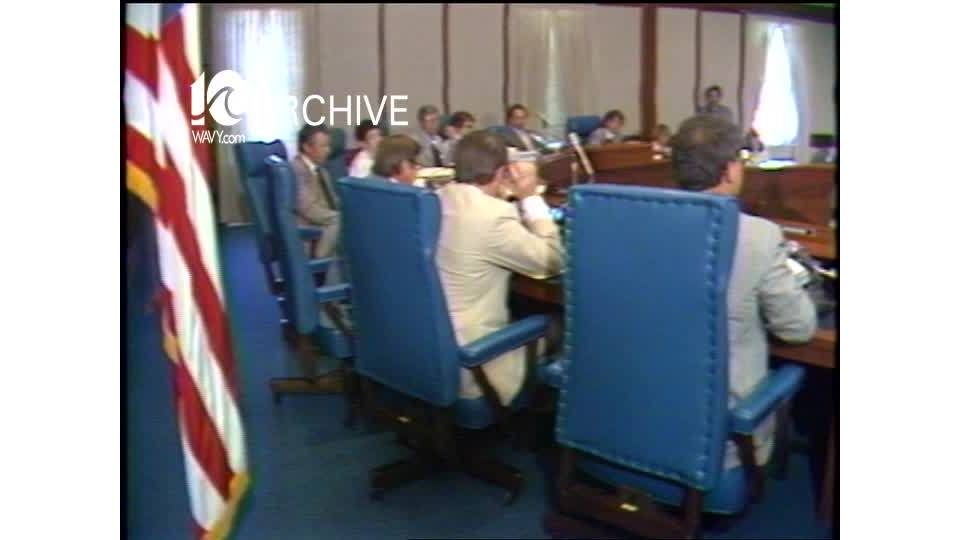 WAVY Archive: 1981 Virginia Beach City Council Budget - Teachers