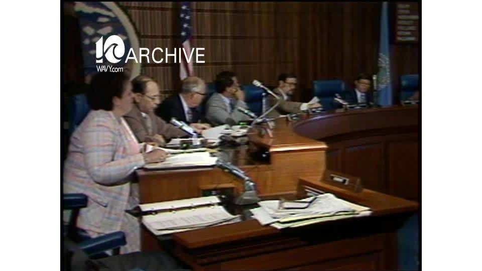 WAVY Archive: 1981 Virginia Beach Council Budget Hearing