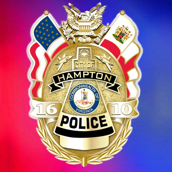 hampton police badge