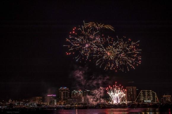 2017 Harborfest Fireworks
