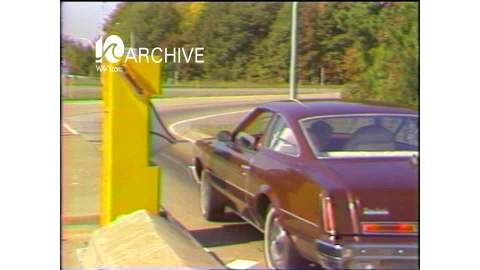 WAVY Archive: 1981 10-cent Toll Booths
