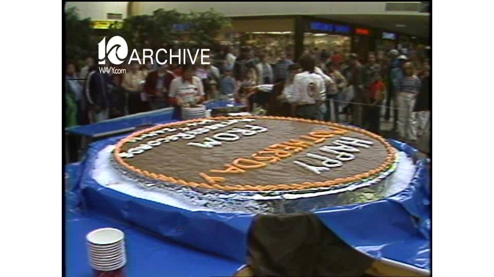WAVY Archive: 1981 BIG Cookie for Mothers Day