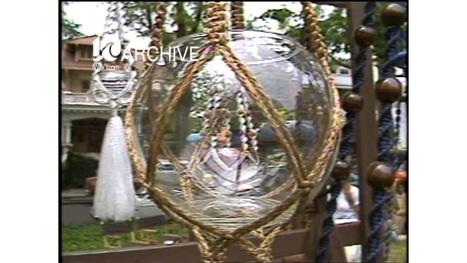 WAVY Archive: 1981 Ghent Art Festival