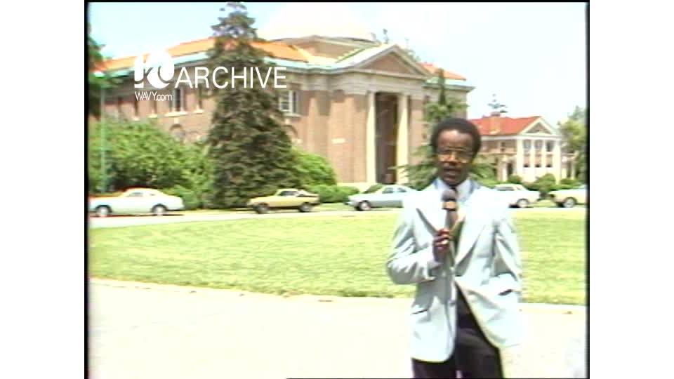 WAVY Archive: 1981 Hampton Institute Graduation