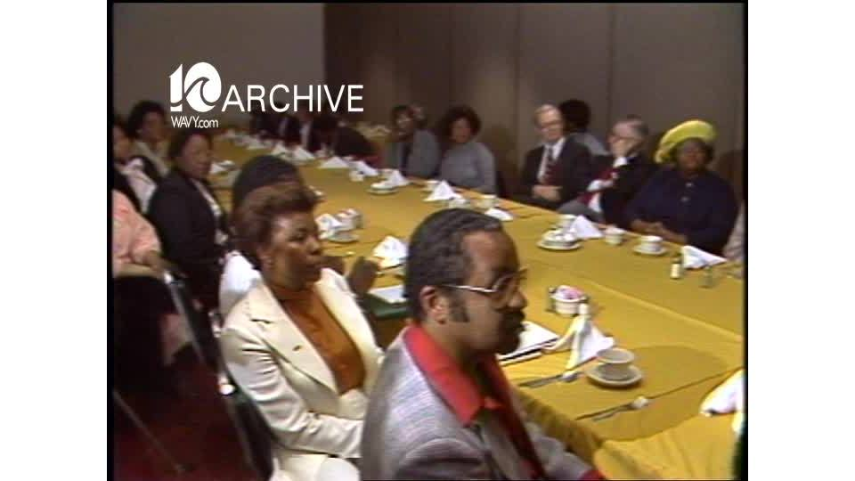 WAVY Archive: 1981 Norfolk Sheriff Candidate