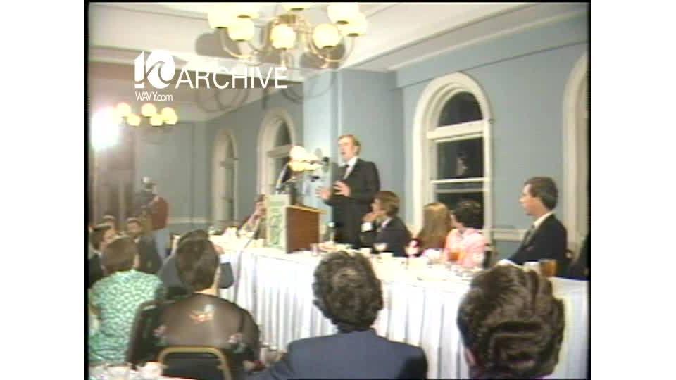 WAVY Archive: 1981 Rev. Jerry Falwell